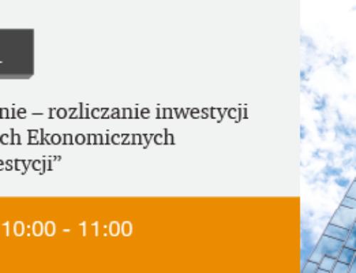 Webinarium PWC – Rozliczanie inwestycji w Specjalnych Strefach Ekonomicznych – 15.06 godz. 10:00
